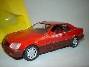 1/43 MERCEDES BENZ 600 SEC 1992 - Schabak SB1270
