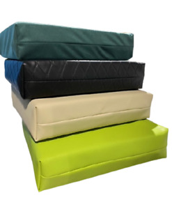 Leather Cushion Seat Pad Memory foam Cushion Pressure Relief Waterproof cover
