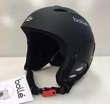 New Bolle Senior downhill snow helmet ski snowboard black sr alpine adult Large