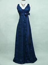 Cherlone Blue Ballgown Wedding Evening Formal Bridesmaid Full Length Dress 8