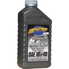 Spectro Platinum 4 10W40 Full Synthetic Oil (4 one liter bottles)