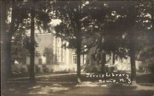 Rome NY Jervis Library c1920s Real Photo Postcard