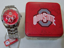 Ohio State Buckeyes Fossil Watch Mens Multifunction Defender Li2781