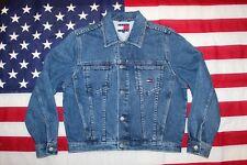 Vintage Tommy Hilfiger Flag Denim Jacket 90s
