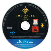 The Order 1886 Game PlayStation 4 PS4  - Disc Only