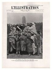 L'ILLUSTRATION 4407 1927 RIEC SUR BELON MAROC MAJORELLE CHAMBERLIN