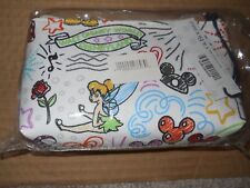 "New Disney Dooney & Bourke Sketch Cosmetic Bag 7"" x 4"" Minnie Tink Dumbo"