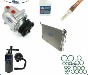 A/C Compressor & Condenser Kit Fits Ford Crown Victoria Grand Marquis OEM 77588