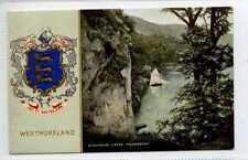 (Gy969-458) Stybarrow Cragg, Ullswater, WESTMORELAND Coat of Arms  Unused VG-EX