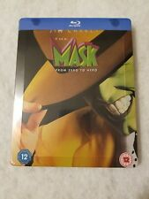 The Mask STEELBOOK Blu Ray UK SOLD OUT SEALED Limited RARE Jim Carrey