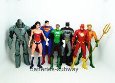 7x New DC Universe Justice League Wonder Woman Batman Superman action Figure Toy