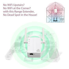 Wireless 300Mbps Wifi Repeater Router Range Extender 3 Working Modes for Home