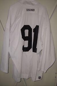 PHOENIX COYOTES worn Kyle Turris white #91 practice jersey 2008-2012 seasons
