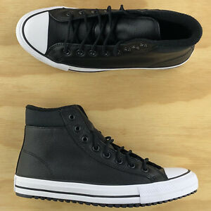 Converse Chuck Taylor All Star PC Boot High Top Black White Shoes 162415C Size