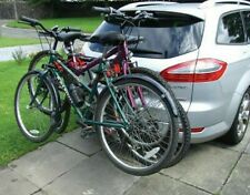 Car & 4x4 Body Boot Mount Fitment 45kg 3 Bike Bicycle Travel Rack Carrier - NEW