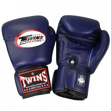 Twins Boxhandschuhe BGVL 3 Blau, Boxen, Muay Thai, Kickboxen, MMA , 10 - 16Oz