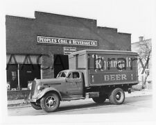 1938 Studebaker K20 Van, Truck, Rheingold Beer, Factory Photo (Ref. #77999)