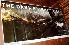 "THE DARK KNIGHT RISES 6 SIX SHEET GIANT POSTER 52"" X 106""CHRISTOPHER NOLAN"