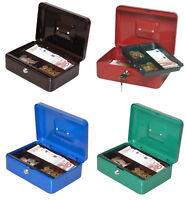 (ab 13,99€/St.) Münz Dokumenten Kassette  Spardose Geldkassette 25x19x9cm, 90025