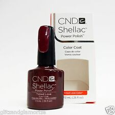 CND Creative Nail Design Shellac Gel Tinted Love .25oz/7.3ml