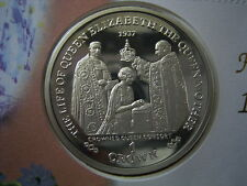 2000 GIBRALTAR QUEEN MOTHER CROWNED QUEEN CONSORT SILVER CROWN ON FDC