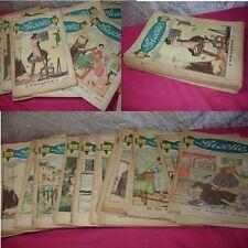 LOT ENFANTINA / LISETTE JOURNAL DES FILLETTES 1936 & 1935 / 29 Numéros