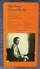 Paul Simon 1977 Columbia Promotional In-Store Display Poster Greatest Hits LP