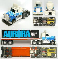 1979 Aurora Speedsteer TCR Peterbilt Tractor & Trailer Slot Car Unused Rig Truck