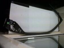 Saab 9-3 93 Derecho Delantero Puerta Moldura de plástico Tapizar Negro 2003 - 2008 12785028