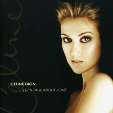 CD CELINE DION LET' S TALK ABOUT LOVE NUOVO SIGILLATO ORIGINALE SEALED ORIGINAL