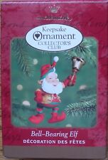 Hallmark 2000 - Collectors Club - Bell-Ringing Elf - Pre-Owned