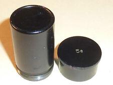 VINTAGE e.leitz wetzlar BOITE n°5 5e box OBJECTIF MICROSCOPE lens LEICA en metal