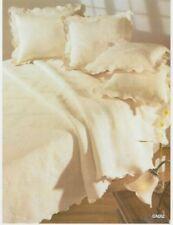 Trapunte e copriletti floreale avorio