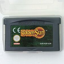 Golden Sun Nintendo Gameboy SP GBA Game Boy Advance Turn Based Role Playing RPG
