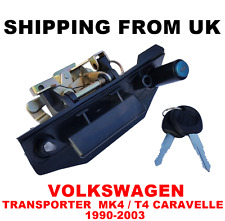 TAILGATE REAR DOOR LID LOCK HANDLE VW TRANSPORTER MK4 T4 IV CARAVELLE 1990-2003