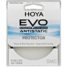 Hoya 58mm EVO Antistatic Protector Filter Super Slim Frame New Open Box