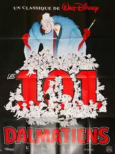 Affiche 120x160cm LES 101 DALMATIENS (1996) Glenn Close, Jeff Daniels EC