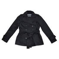 ZARA WOMAN Damen Trenchcoat M 38 schwarz Jacket Jacke Blazer Mantel TOP