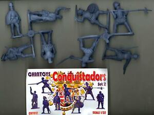 Chintoys 1/32 CONQUISTADORS Set #2 Figure Set