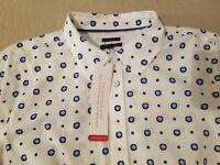 Womens New Talbots Dress Shirt 6P Petite White Button Cotton Blouse