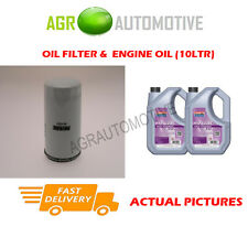 PETROL OIL FILTER + FS 5W30 OIL FOR LAND ROVER DISCOVERY 4.0 219BHP 2005-09