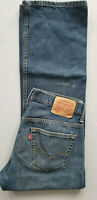 LEVI STRAUSS Men 569 Loose Straight Leg 100% Cotton Denim Jean - 30x32 Blue