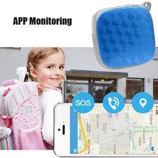 Mini Global Locator Realtime Kids Car Pets GSM/GPRS/GPS SOS APP Tracker Tracking