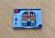 LEGO 1x CAFE CORNER Tile 2x3 très rare de Montage Carré