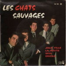 LES CHATS SAUVAGES JOLIE FILLE (BETTY JEAN) FRENCH ORIG EP