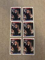 (6) 1992 Upper Deck JIM THOME Star ROOKIE Cleveland Indians #5 (R) (HOF)