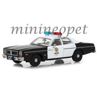 GREENLIGHT 86534 THE TERMINATOR 1984 1977 DODGE MONACO METROPOLITAN POLICE 1/43