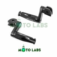 CNC Shinobi 1.5'' Adjustable Front Rider Foot Pegs For Ducati 1199 1299 Panigale