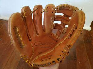 "Vintage Mizuno Pete Rose MT 6000 Baseball Glove 11"" LHT Professional Model"