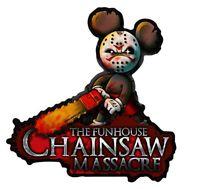 Chainsaw Massacre Aufkleber Horror Sticker Fun JDM Tuning Gangster Stickerbomb